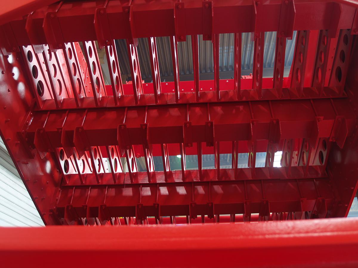 Banana screening machine BHG 30-60-I S assemblage