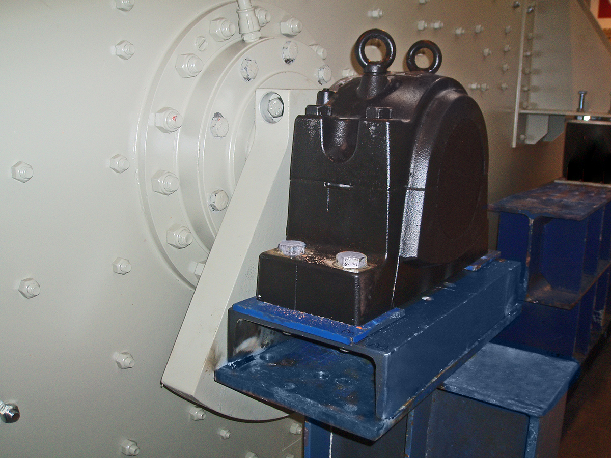 Excenter screening machine VS