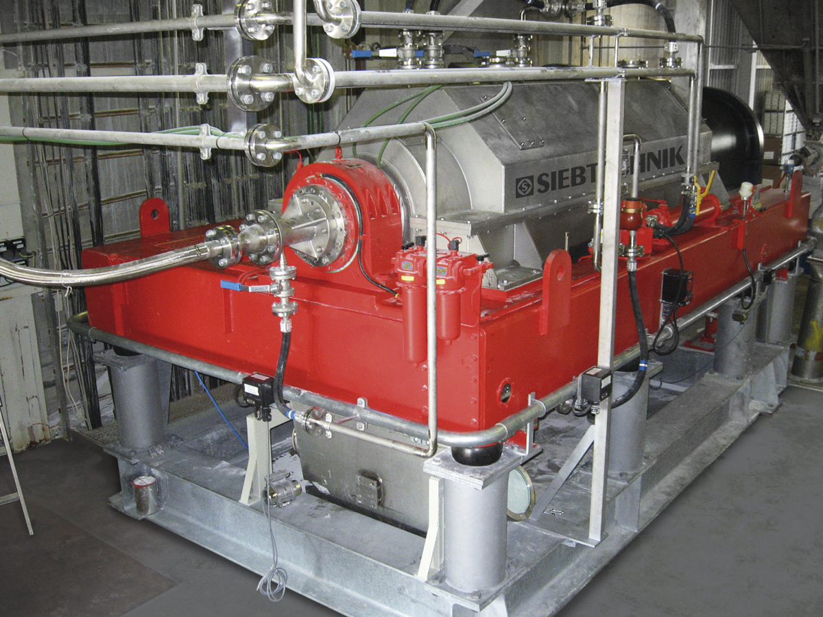 Decanter centrifuge DZ8E