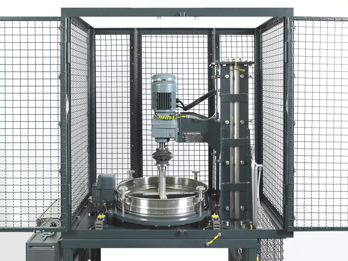 Control screening machine PERFLUX - ATEX