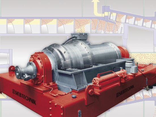 TWINCONE decanter centrifuge TWC