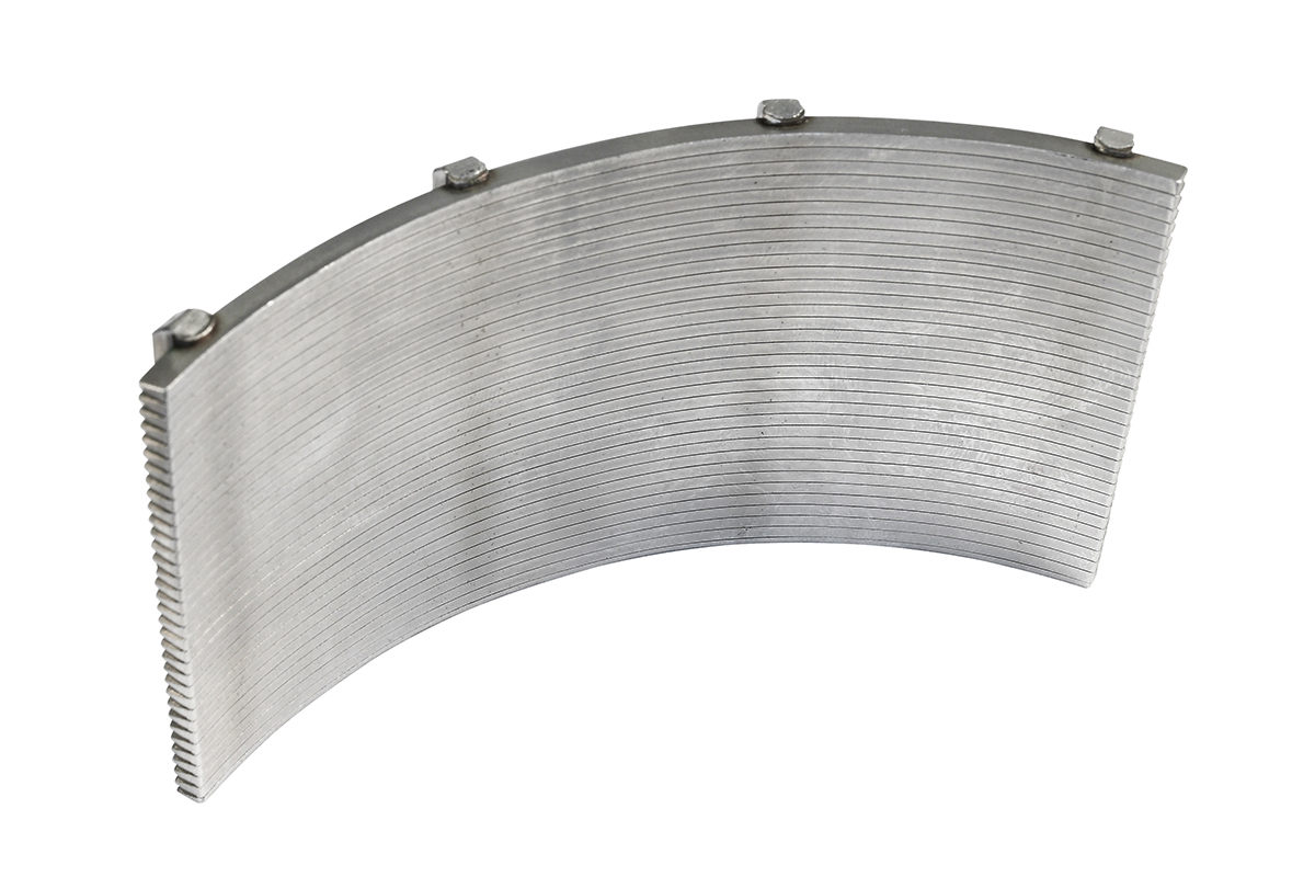 Multi-purpose mill UM 150 - slotted filter insert