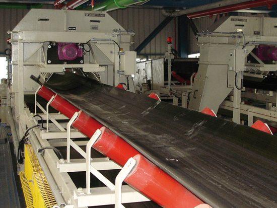 Hammerprobenehmer für Kohle, automatisierte Beprobung am Gurtförderband
