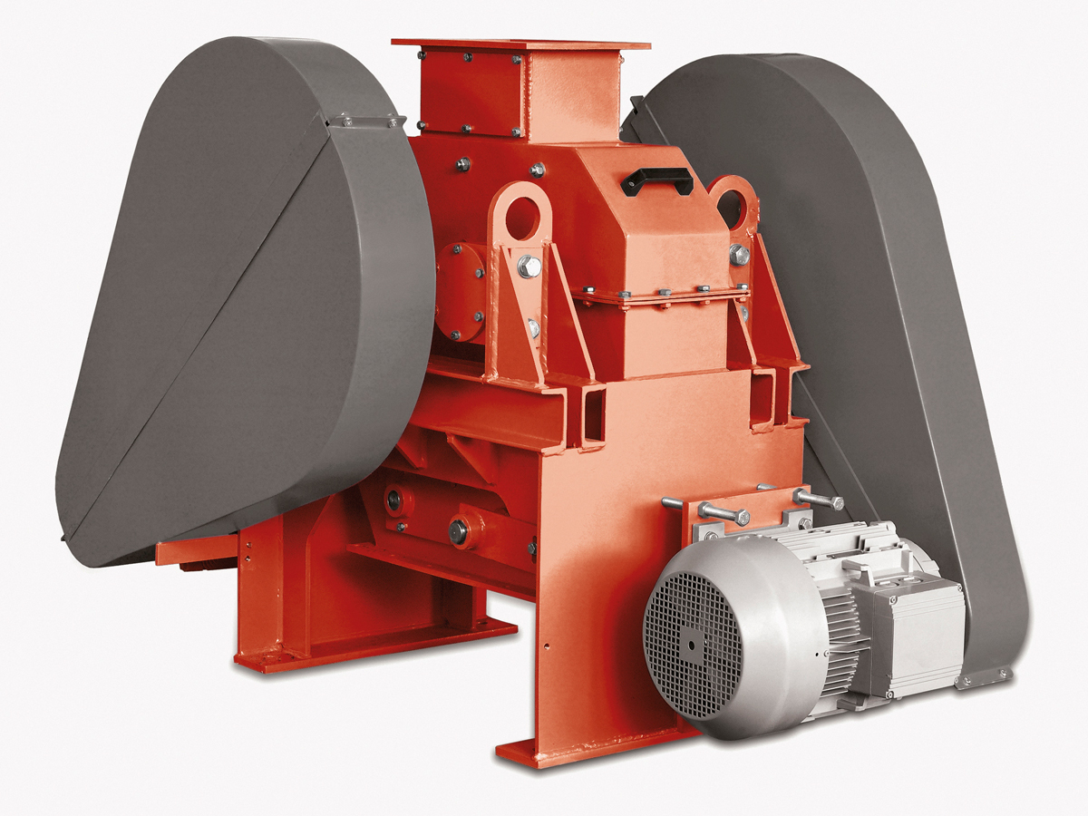 Double Roller Mill