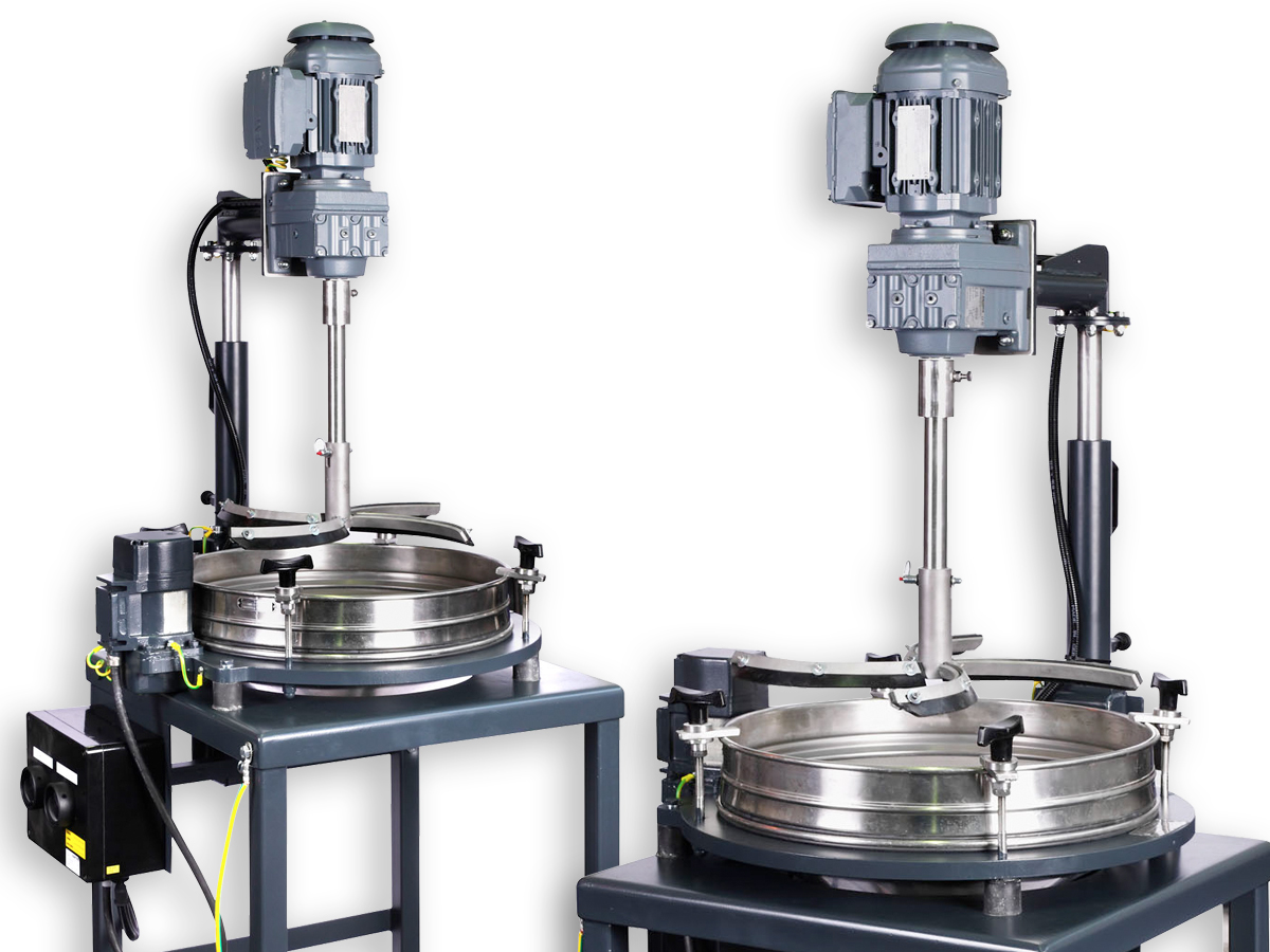 Control screening machine PERFLUX with motor-driven brush equipment