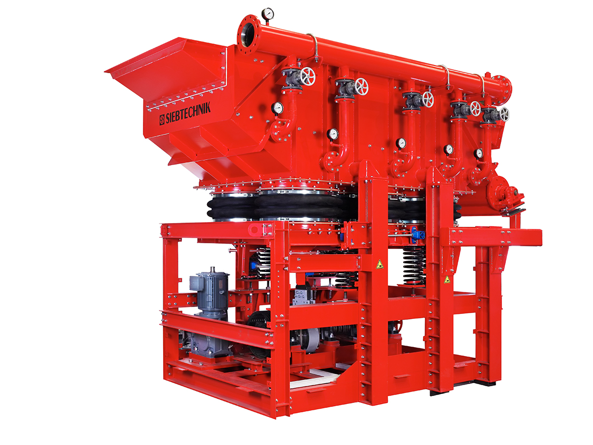 Pulsator jig SK 16-33 for ore