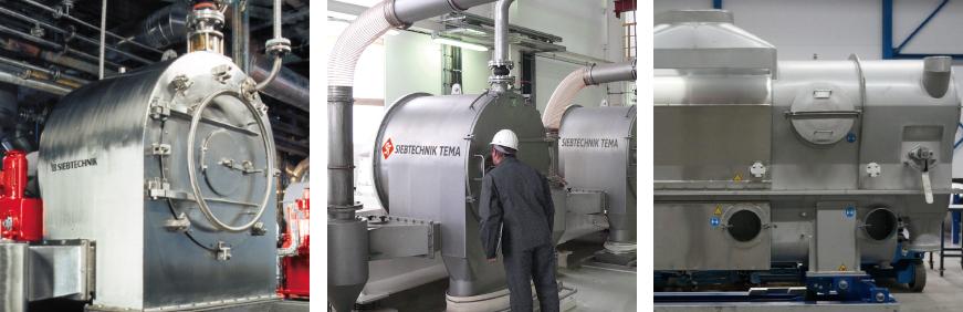 Ammonium Sulfate Machines - CONTURBEX - SHS - Dryer