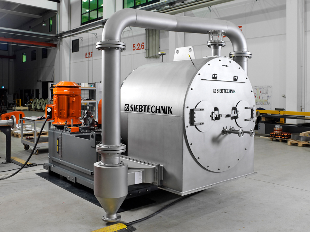 Manufacturing of a pusher centrifuge SHS for sodium sulfate