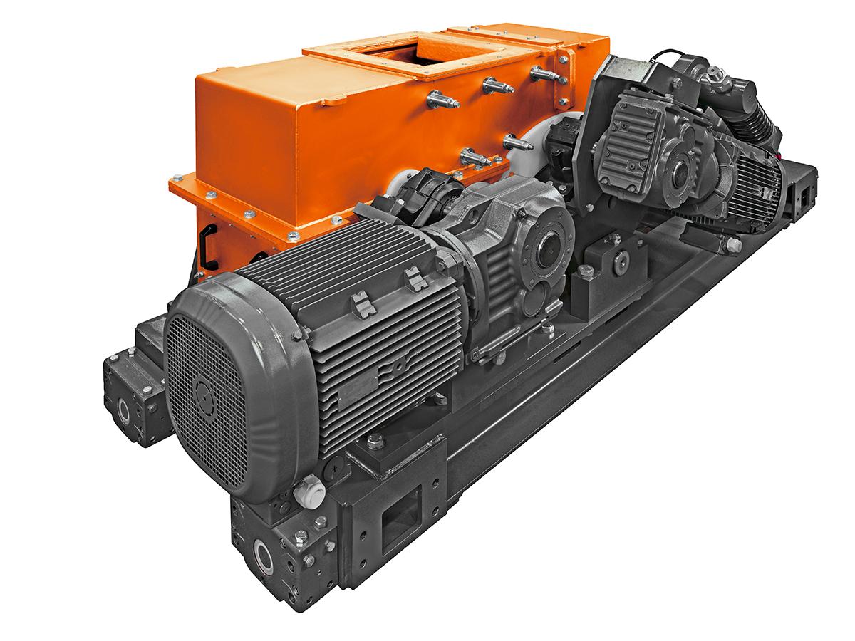 SIEBTECHNIK TEMA double roller mill WS 600 x 400